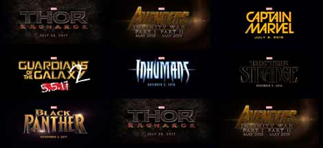 Marvels Phase 3: Civil War, Doctor Strange, Guardians 2, Thor 3, Avengers, Inhumans, Captain Marvel und Black Panther!