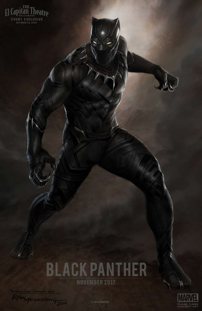 Black Panther Kinoposter