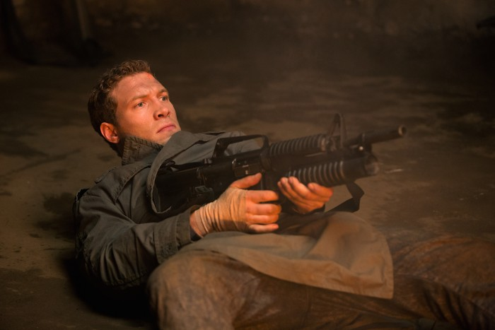 Jai Courtney plays Kyle Reese in Terminator Genisys from Paramount Pictures and Skydance Productions.