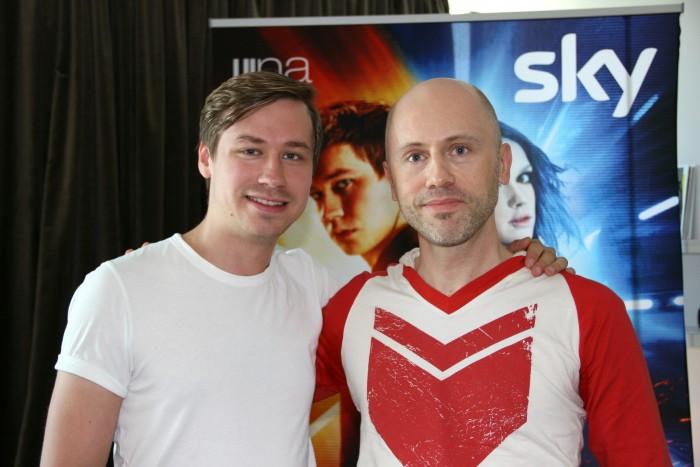 David Kross und Max Krausmann