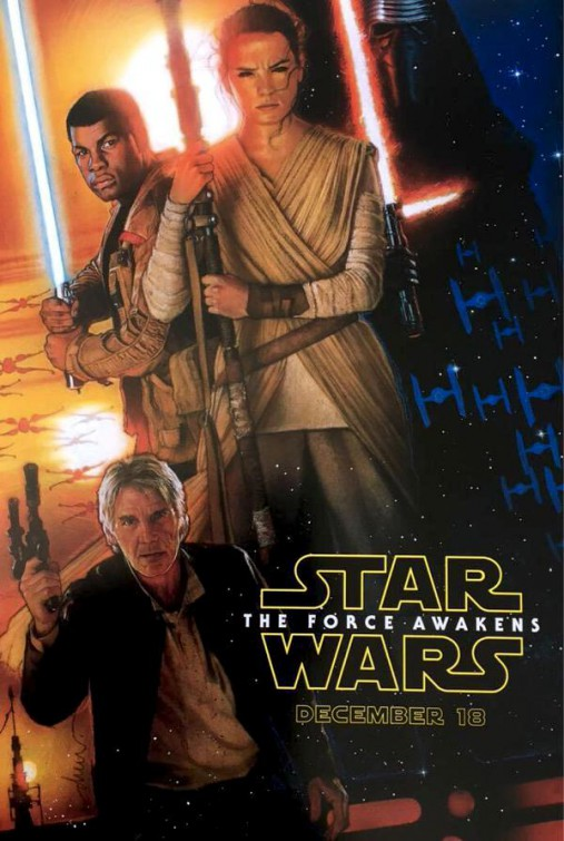 Kinoposter zu Star Wars 7 The Force Awakens