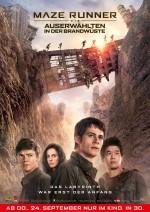 Kinoposter Maze Runner  – Die Auserwählten in der Brandwüste