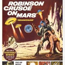 Kinoposter Robinson Crusoe on Mars