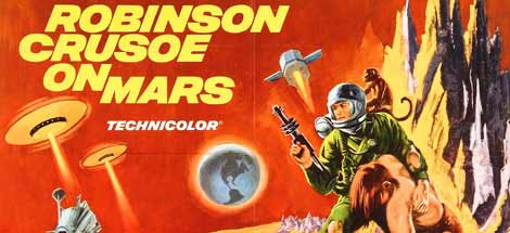Filmkritik: »Robinson Crusoe auf dem Mars« (1964)