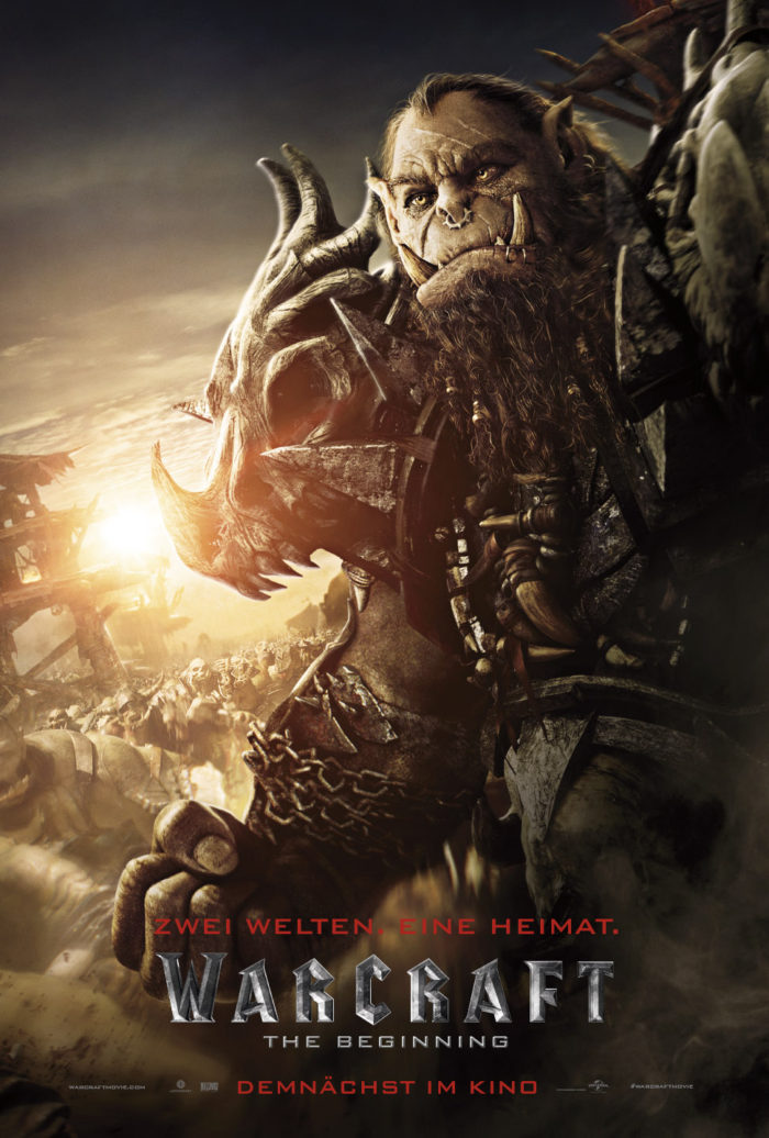 Warcraft_Online_1-Sht_Blackhand_Germany