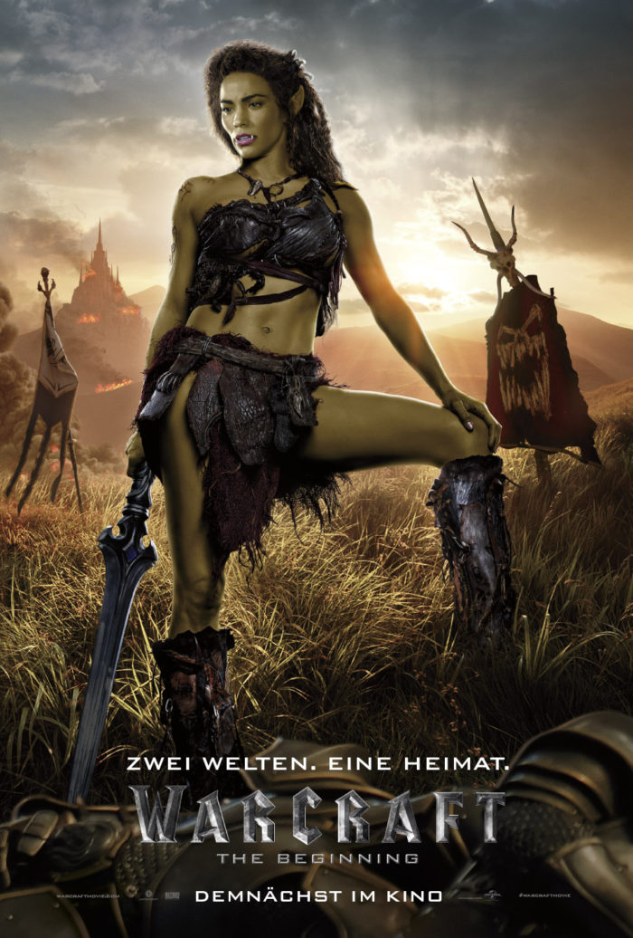Warcraft_Online_1-Sht_Garona_Germany