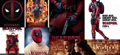 Kinoposter zu »Deadpool« (2016)