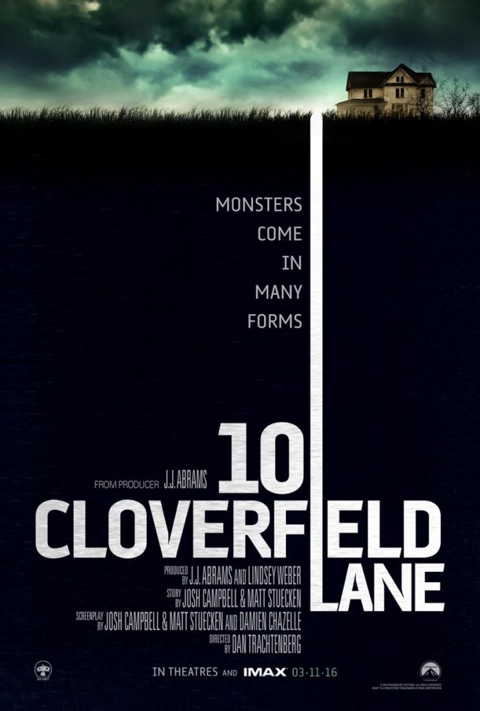 Kinoposter 10 Cloverfield Lane