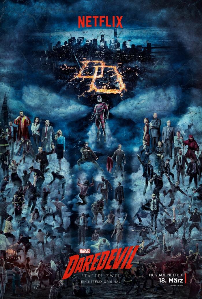 Poster Daredevil zweite Staffel
