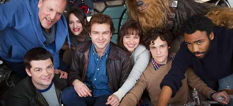 Drehbeginn für »Han Solo – A Star Wars Story«