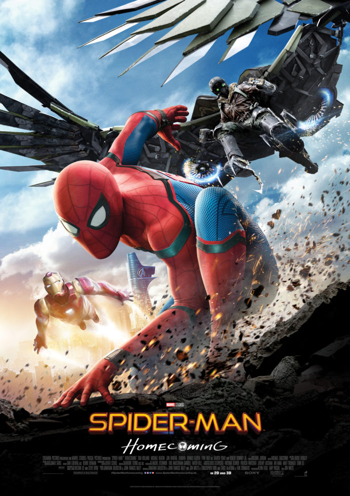 Kinoposter zu »Spider-Man: Homecoming« (2017)