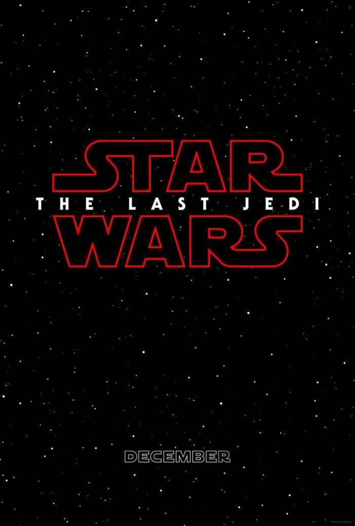 Kinoposter Star Wars Die letzten Jedi