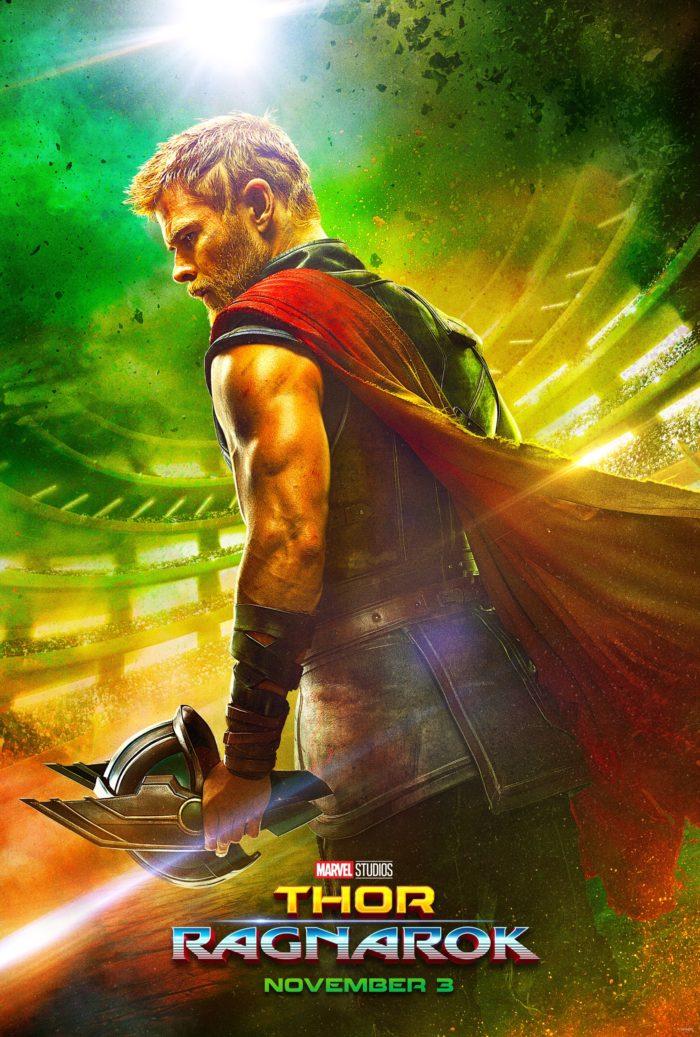 Kinoposter zu »Thor: Tag der Entscheidung« | »Thor: Ragnarök« (2017)
