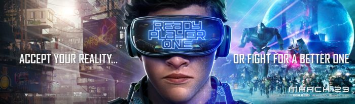 Kinoposter zu »Ready Player One« (2018)