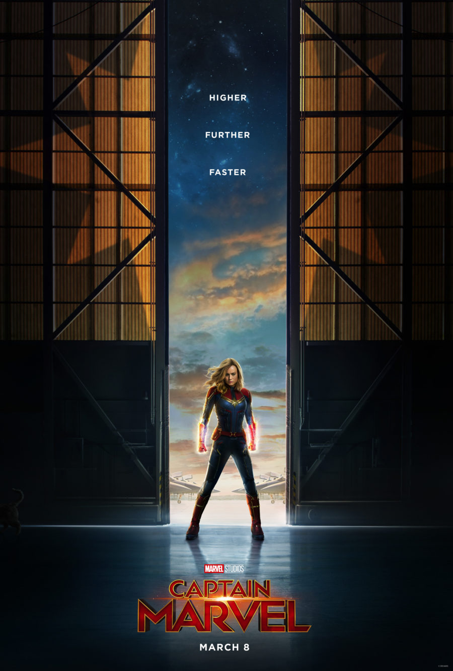 Kinoposter zu »Captain Marvel« (2019)