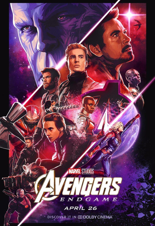Kinoposter zu Avengers Endgame